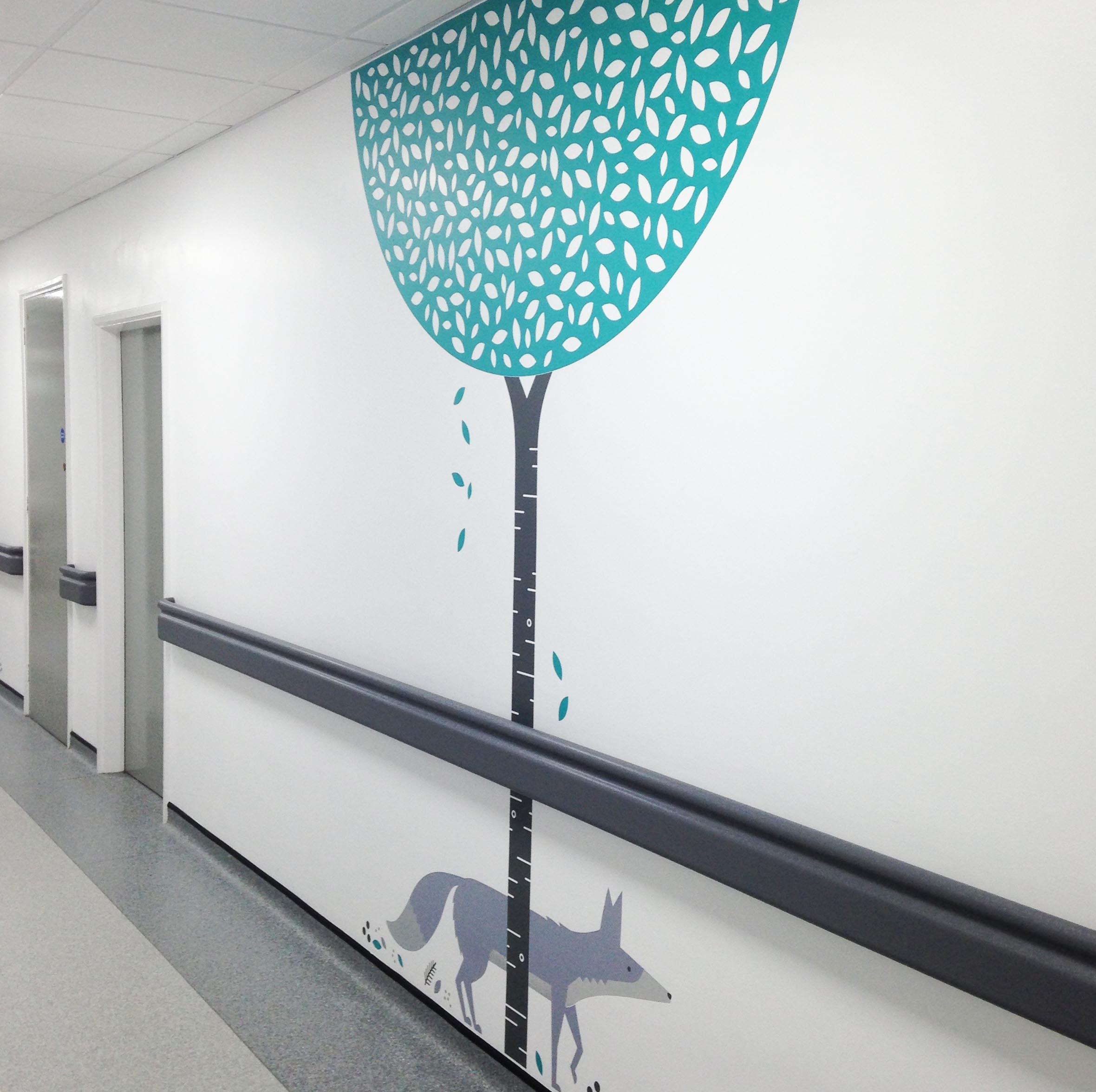 Fracture Corridor Photo 8-hospital-illustration-wall-graphics.jpg