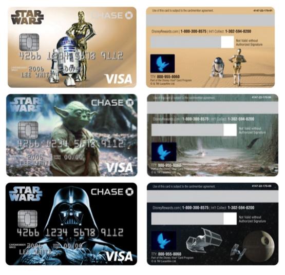 Disney Visa Star Wars Cards