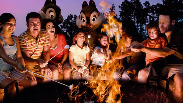 Chip n Dale Campfire and other free activities at Walt DisneyWorld