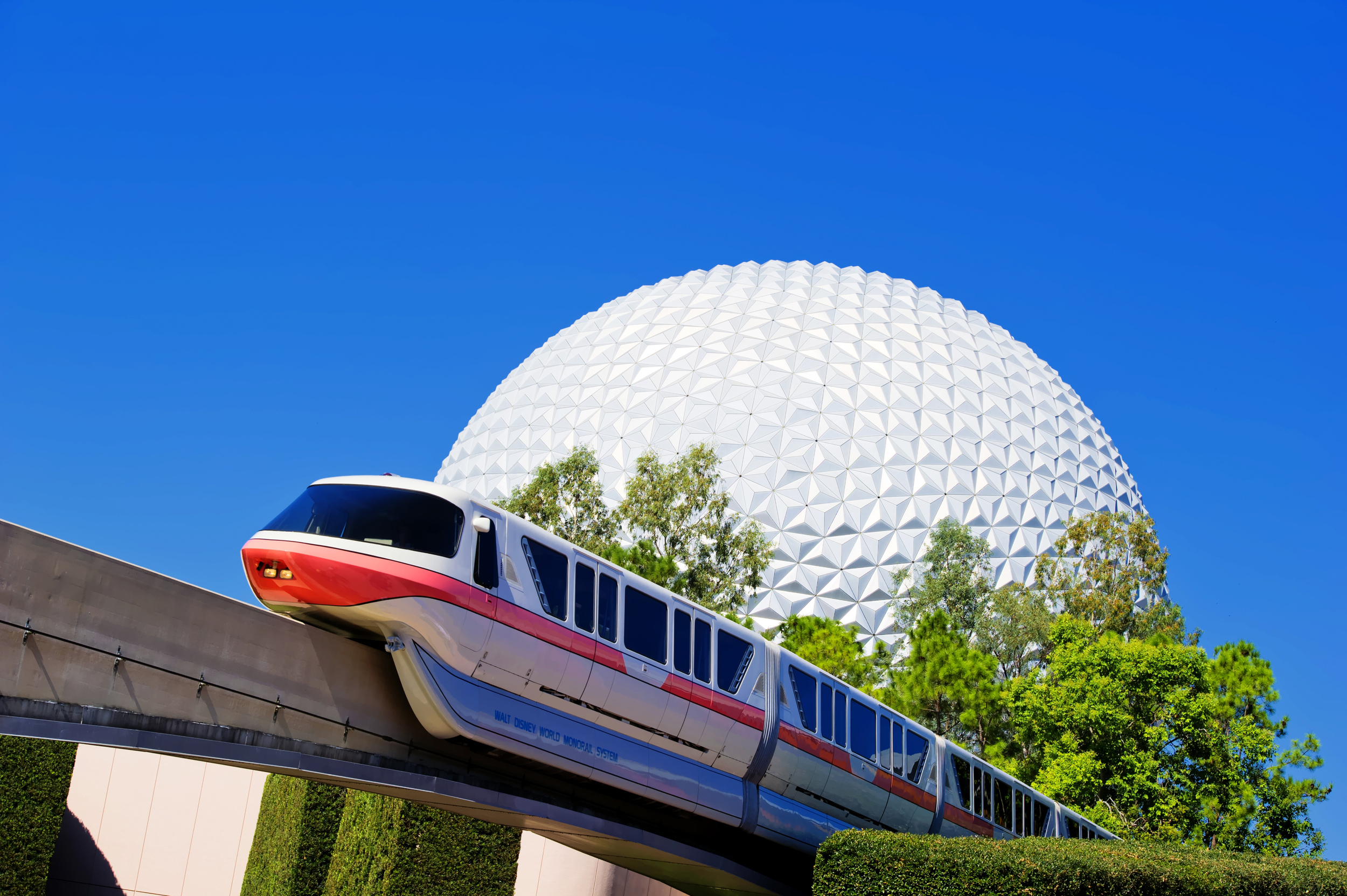 Monorail Tour of Epcot