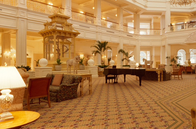 Tour Disney's Grand Floridian Resort