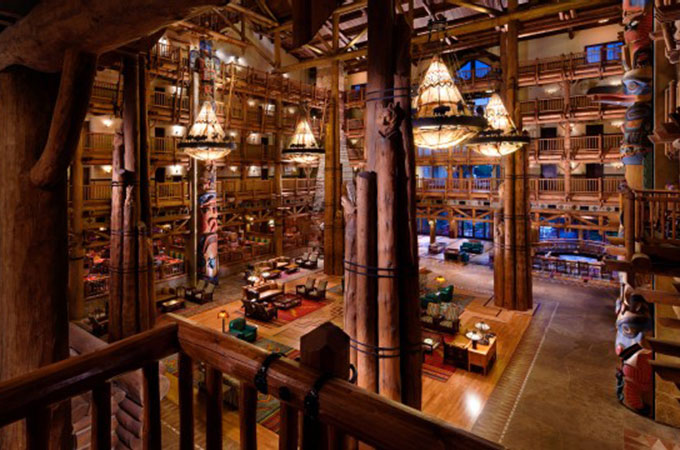 Free tours of Disney's Wilderness Lodge