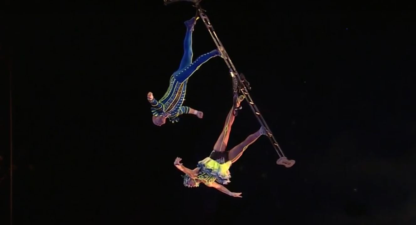 Love Inspires the Newest Act in 'La Nouba' by Cirque du Soleil