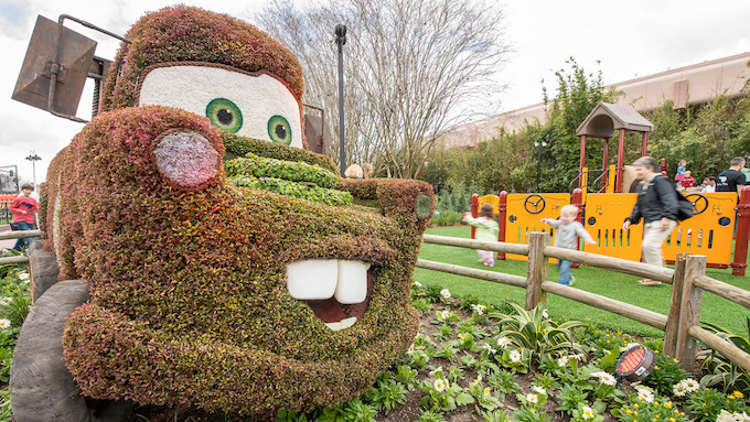 Fun Fresh Weekends at Epcot during the Epcot International Flower and Garden Festival