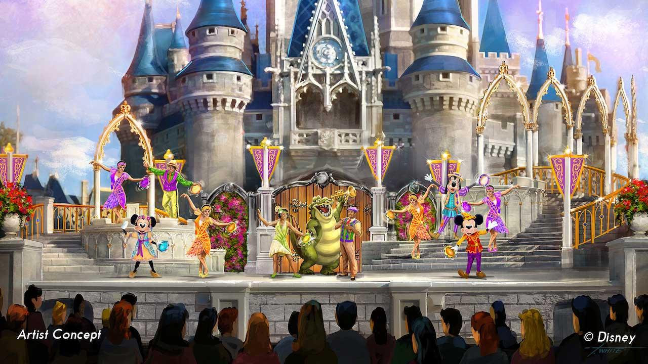 "Beginning this summer, Mickey Mouse and his friends will welcome favorite characters from some of Disney's newest classics in ""  Mickey's Royal Friendship Faire  ."""