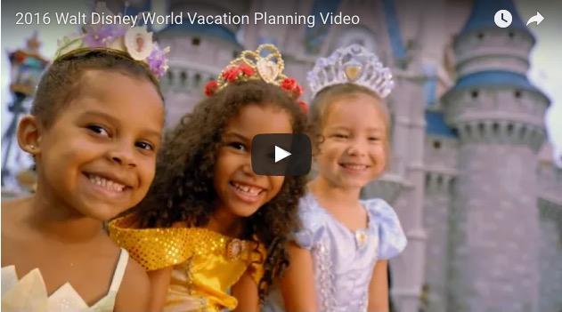 2016 Walt Disney World Vacation Planning DVD