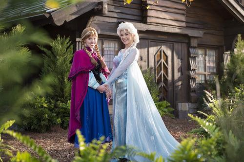 Where to find Frozen at Walt Disney World