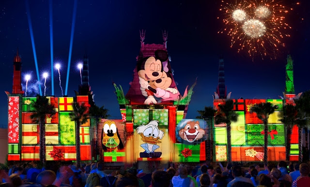 "All-New Holiday Nighttime Spectacular ""Jingle Bell, Jingle BAM!"" Coming to Disney's Hollywood Studios November 14."