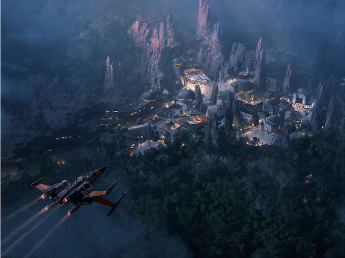 STAR WARS -THEMED LAND AT  DISNEY'S HOLLYWOOD STUDIOS TO DAZZLE AT NIGHT, PLUS NEW STAR TOURS ADVENTURE COMING!