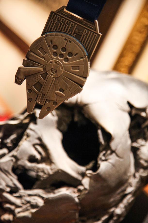 runDisney Star Wars Half Marathon Light Medal