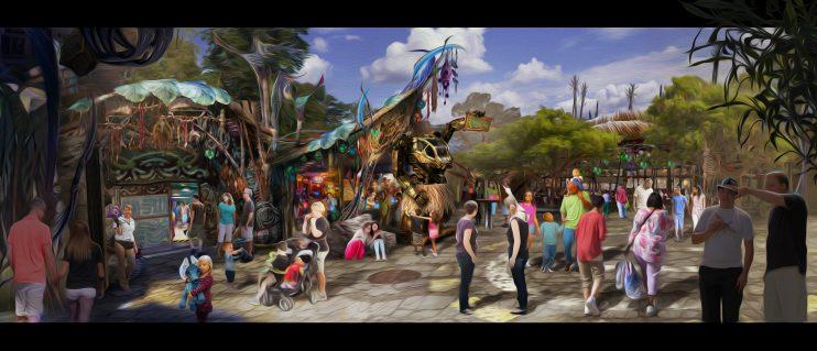Concept Art - Pandora - World of Avatar