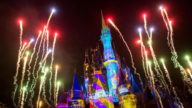 New Cinderella Castle Show at Magic Kingdom Park
