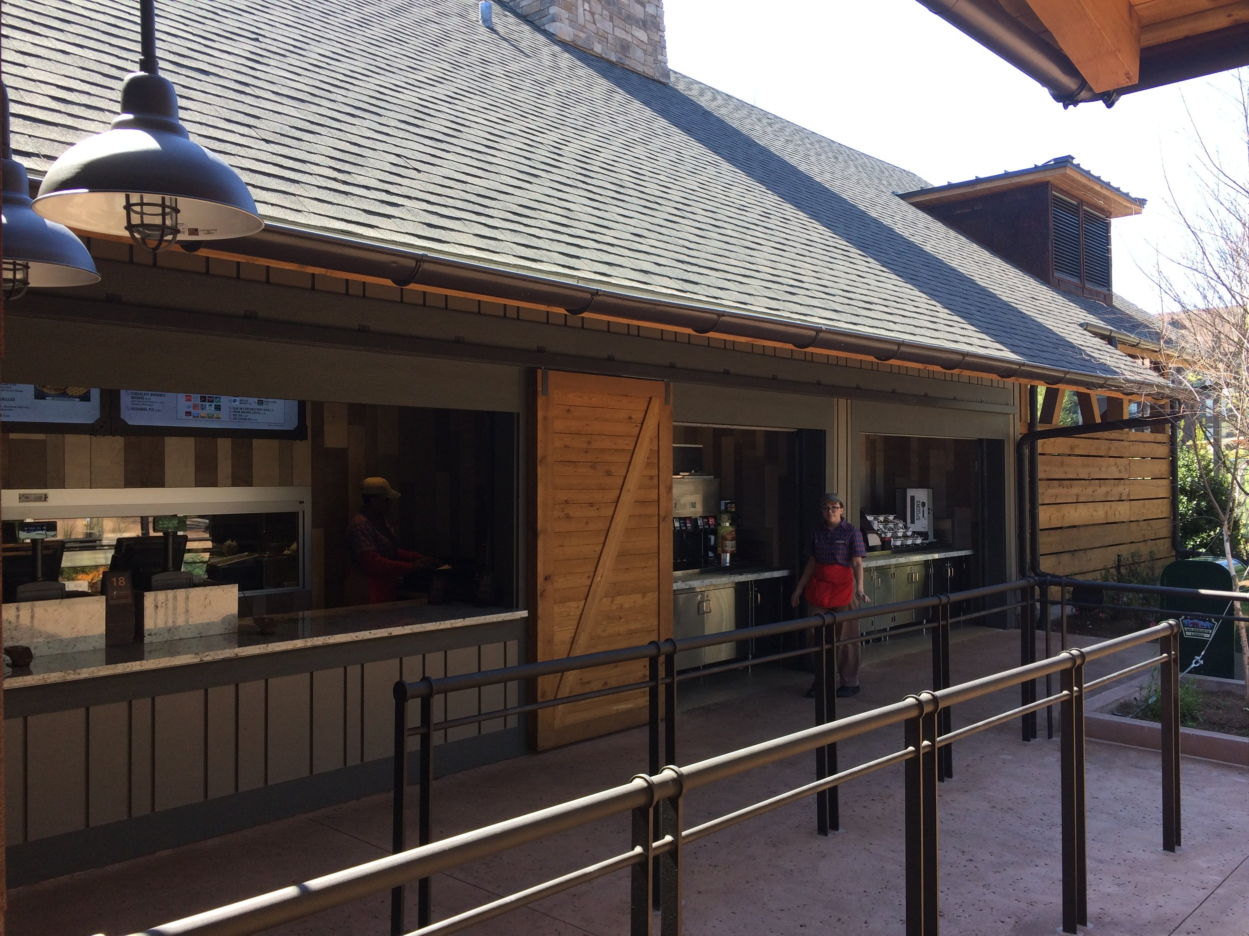 Quick Service Dining at Disney's Wilderness Lodge