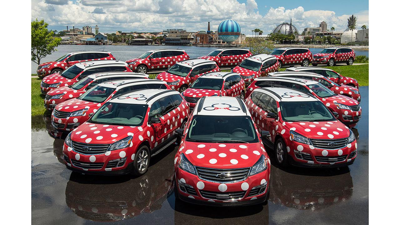 Walt Disney World Minnie Van Service Begins