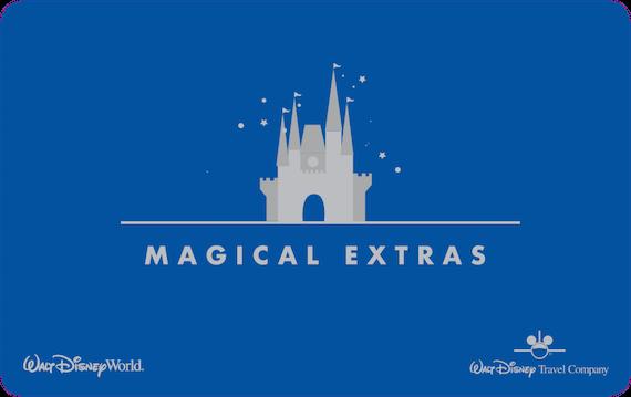 Magical Extras Card - Walt Disney World Resort