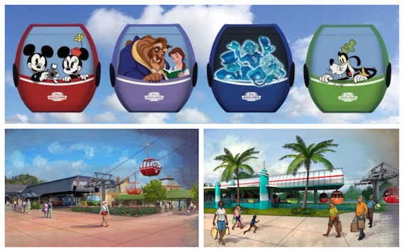 Proposed Disney Skyliner coming to Walt Disney World Resort