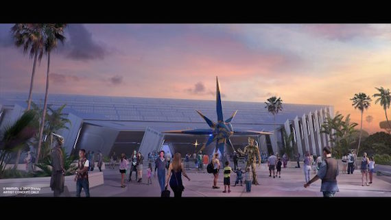 Guardians of the Galaxy  coaster coming to Epcot in 2021.