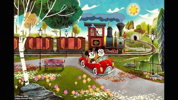Mickey & Minnie's Runaway Railway coming to  Disney's Hollywood Studios