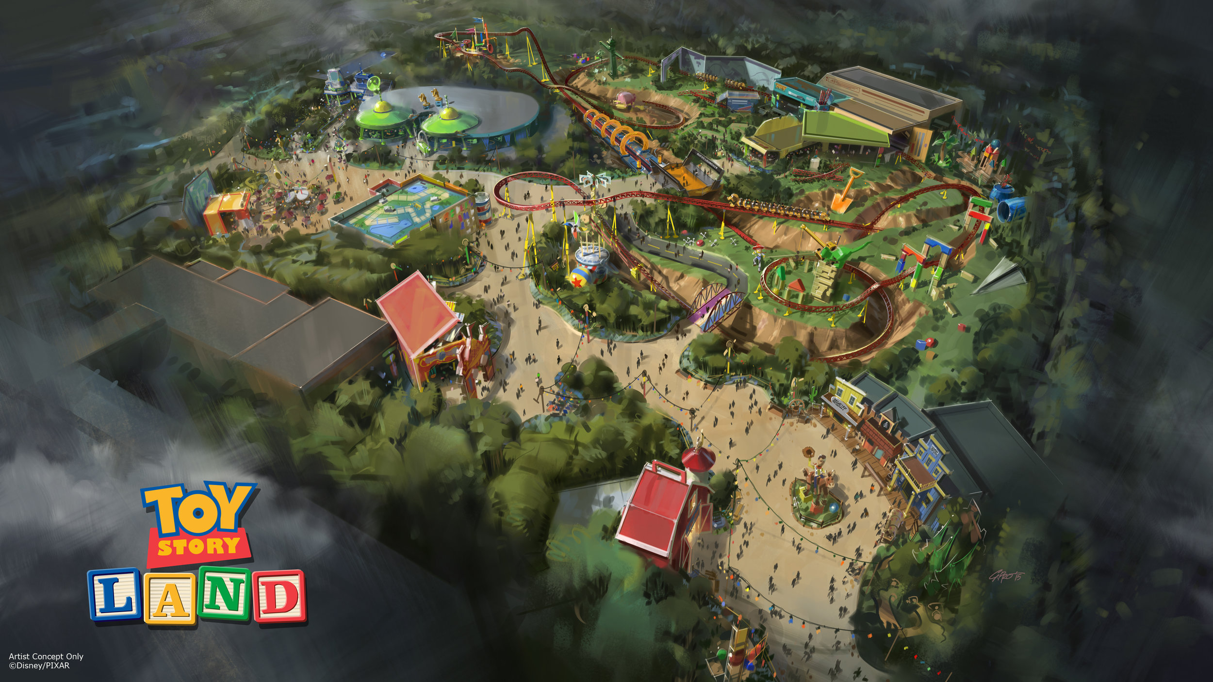 Toy Story Land opens June 30, 2018