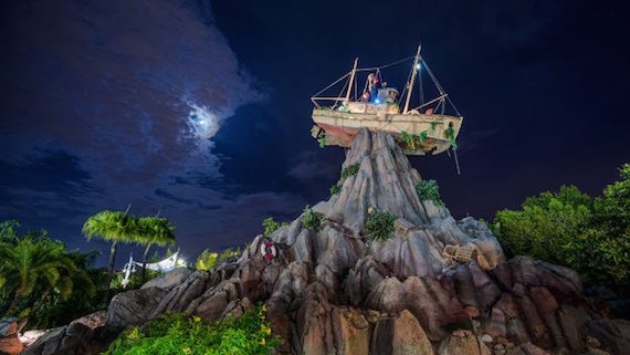 Disney H20 Glow Nights  will take place only at  Typhoon Lagoon  on Thursdays and Saturdays from June 21-Aug. 11, 2018 from 8-11 p.m.