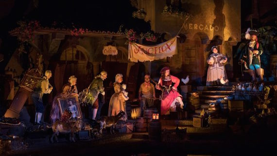 New scene opens March 19, 2018 at Pirates of the Caribbean - Walt Disney World