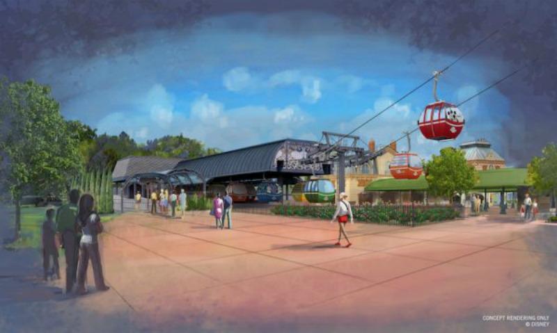 Disney Skyliner Resort Transportation