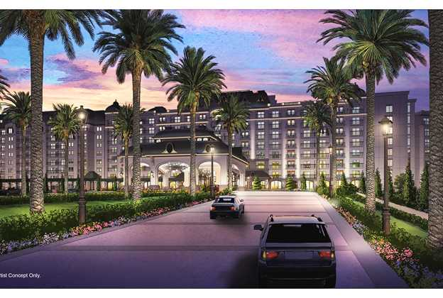 Disney's Riviera Resort is being built inside the Caribbean Beach complex and will be added to the Disney Skyliner.