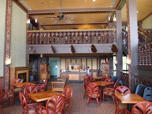 Club Level Lounge at Disney's Polynesian Village Resort | Walt Disney World
