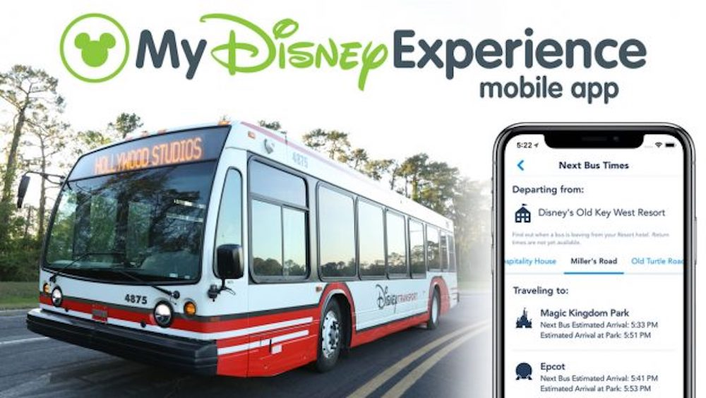 Wait Times for Walt Disney World Buses now in real time.