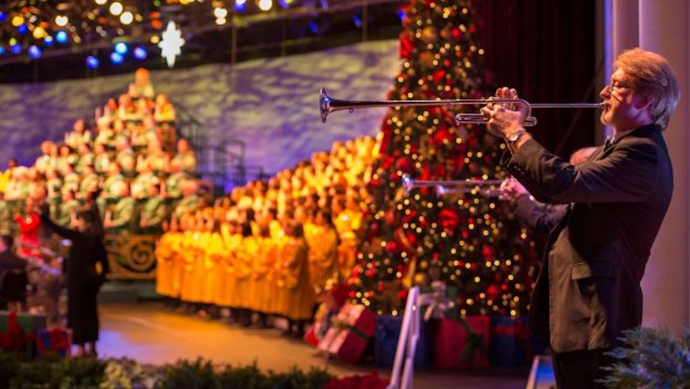 Epcot Candlelight Processional Dates 2018