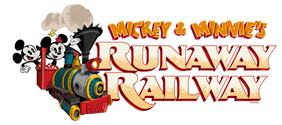 Mickey and Minnie's Runaway Railway at Disney's Hollywood Studios ©Disney