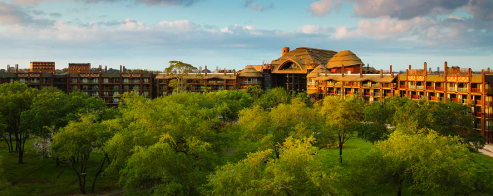 Disney's Animal Kingdom Lodge Resort in Orlando, Florida