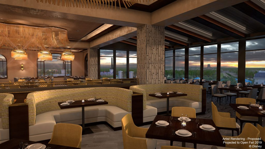 Topolino's Terrace coming to Disney's Riviera Resort at Walt Disney World.