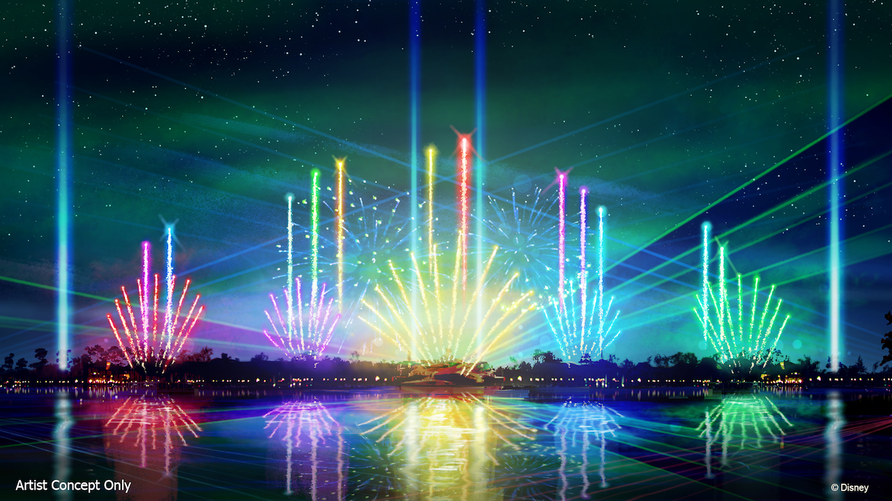 Last Show of Illuminations Reflections of Earth