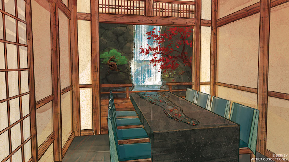 Takumi-Tei opens summer 2019 inside Epcot at the Walt Disney World Resort