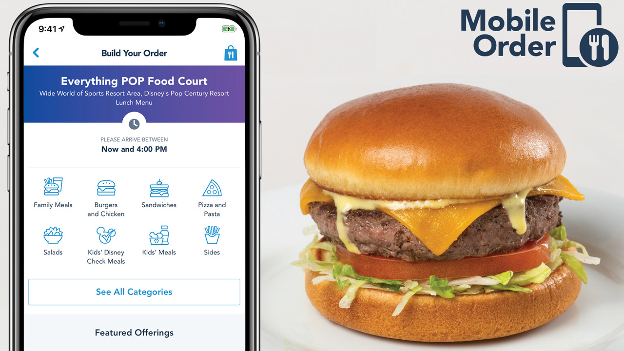 Mobile order is expanding to Disney Resort hotels.
