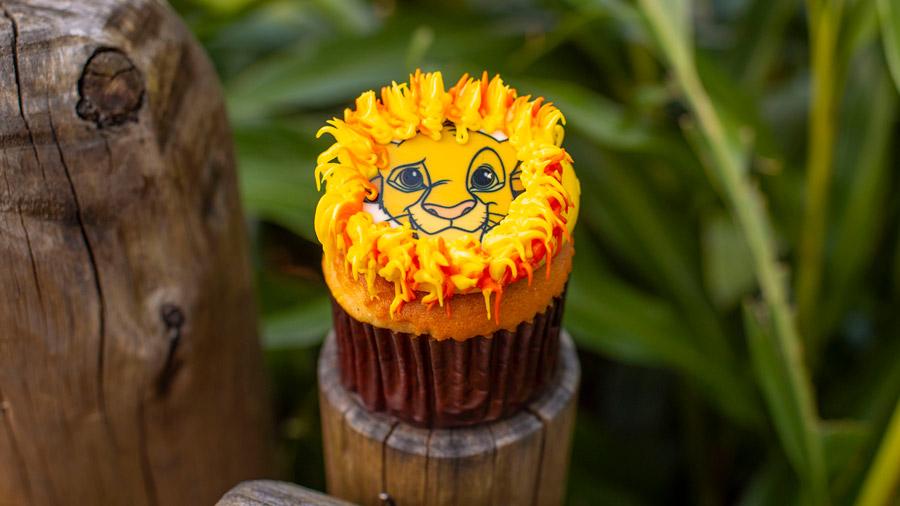 Simba Cupcake – Currently available at Pizzafari