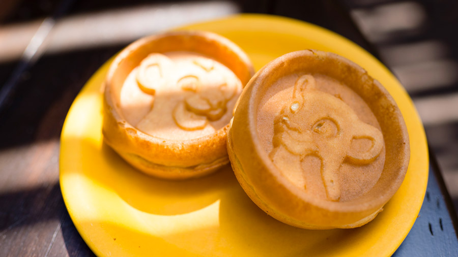 Simba and Nala Waffles – Currently available at Tusker House (breakfast only)