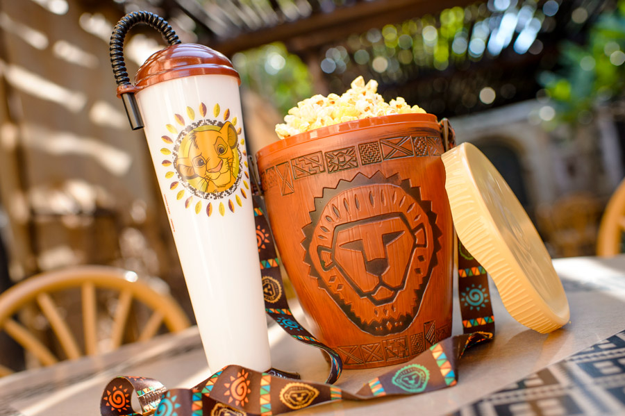 """The Lion King"" Novelty Sipper and Popcorn Bucket – Available Later this Summer at various Outdoor Vending Locations throughout the Park"