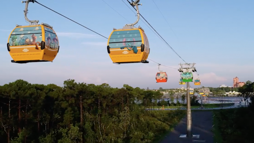 Disney Skyliner Transportation System at Walt Disney World Resort