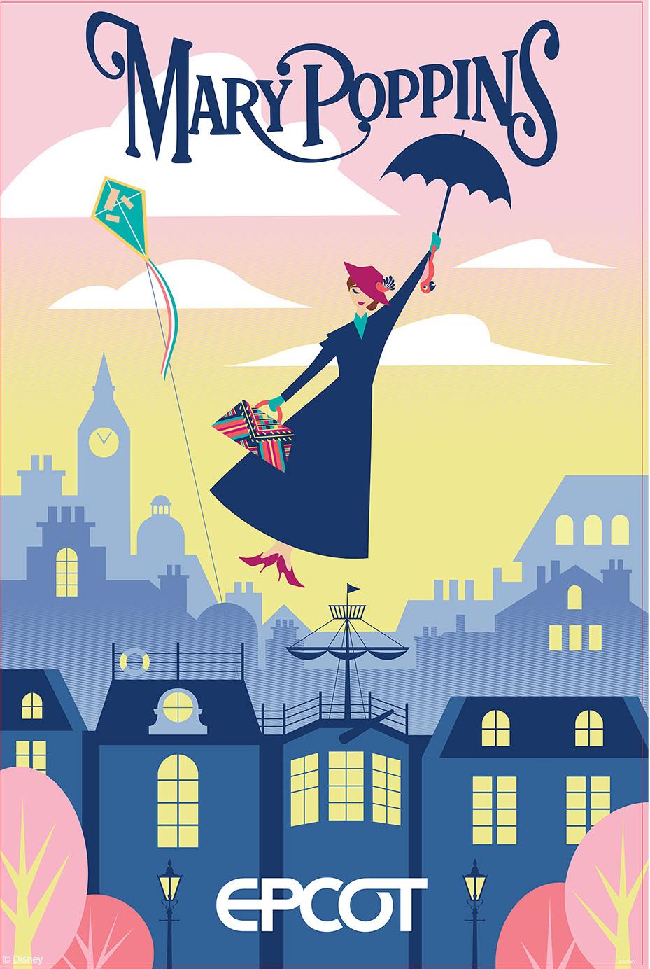 UK Pavilion: Mary Poppins