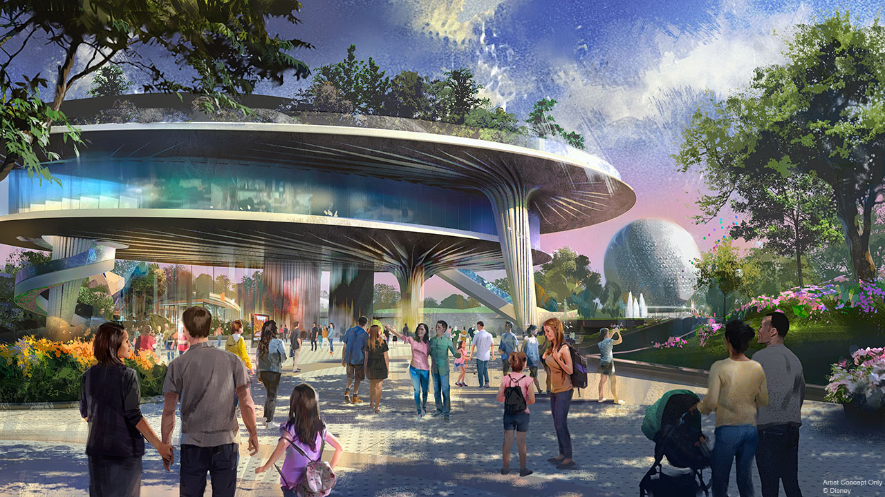 New FutureWorld Pavilion Coming