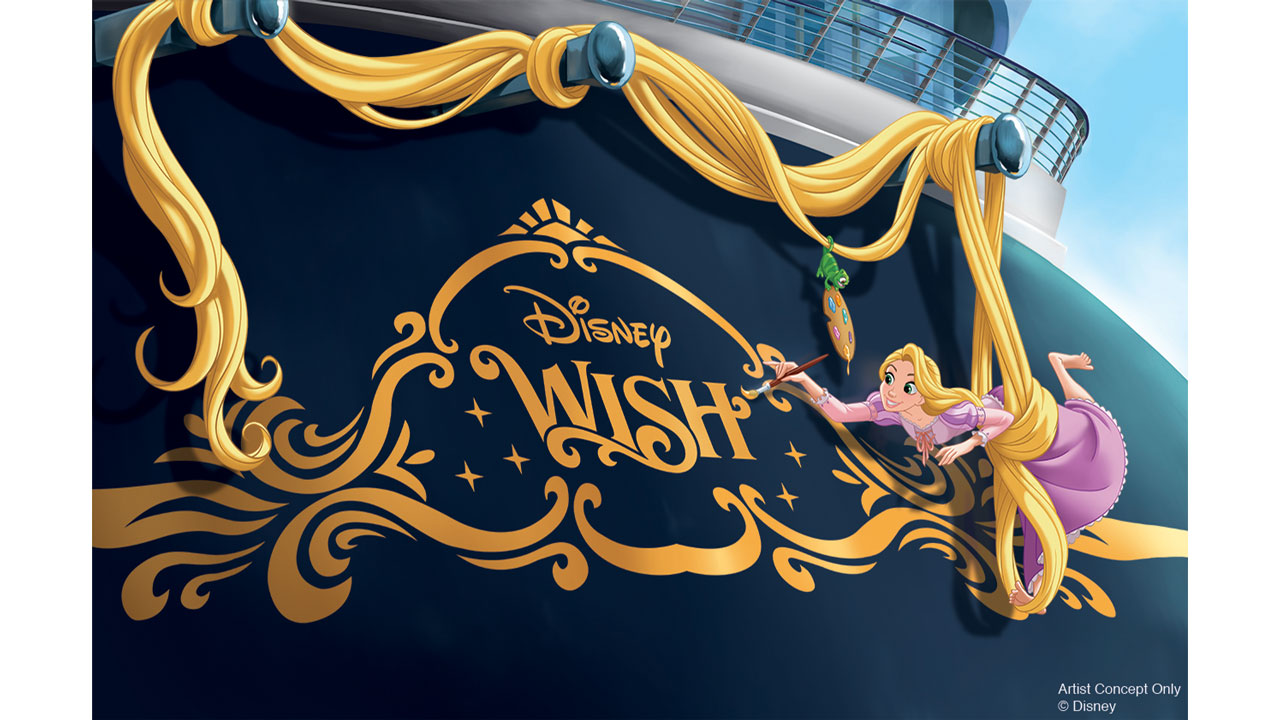 Disney Wish is Disney Cruise Line's 5th Ship