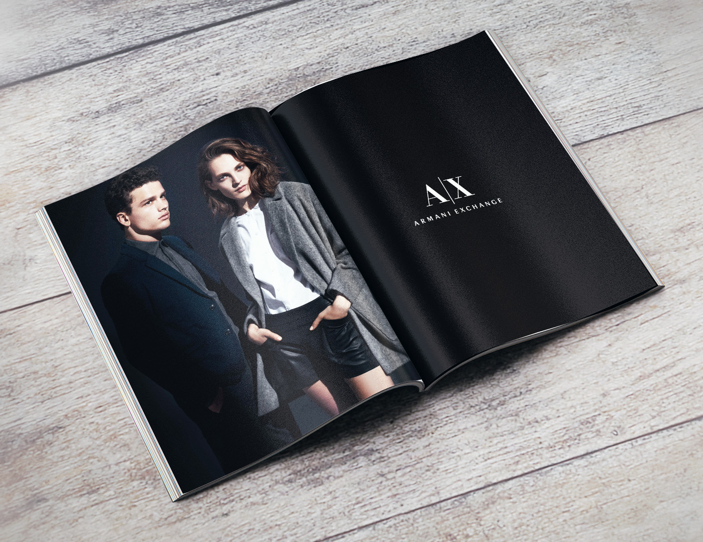 "Armani Exchange Fall '14 Campaign ""Portraits"" Concept and Art Direction"