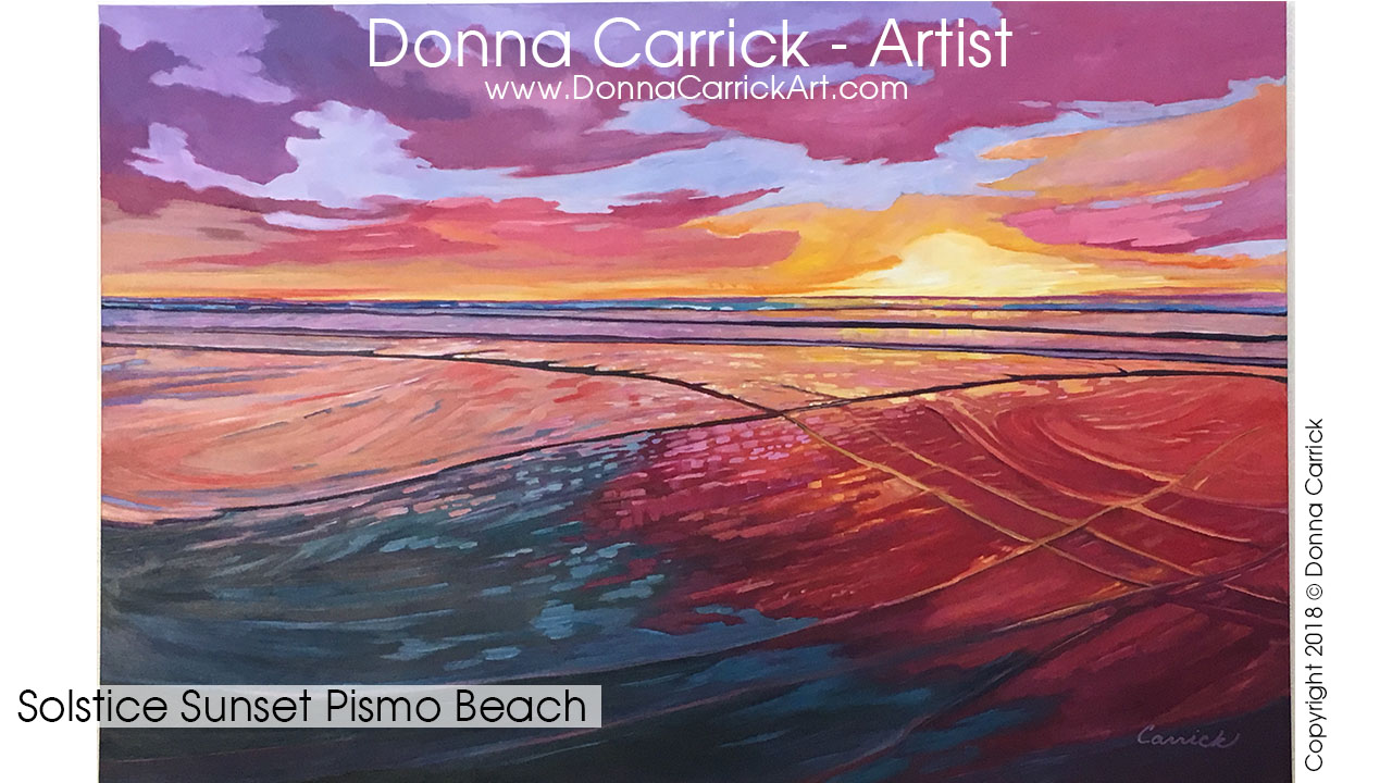 Currently on view at Marisol at  The Cliffs Hotel & Spa , Shell Beach, CA