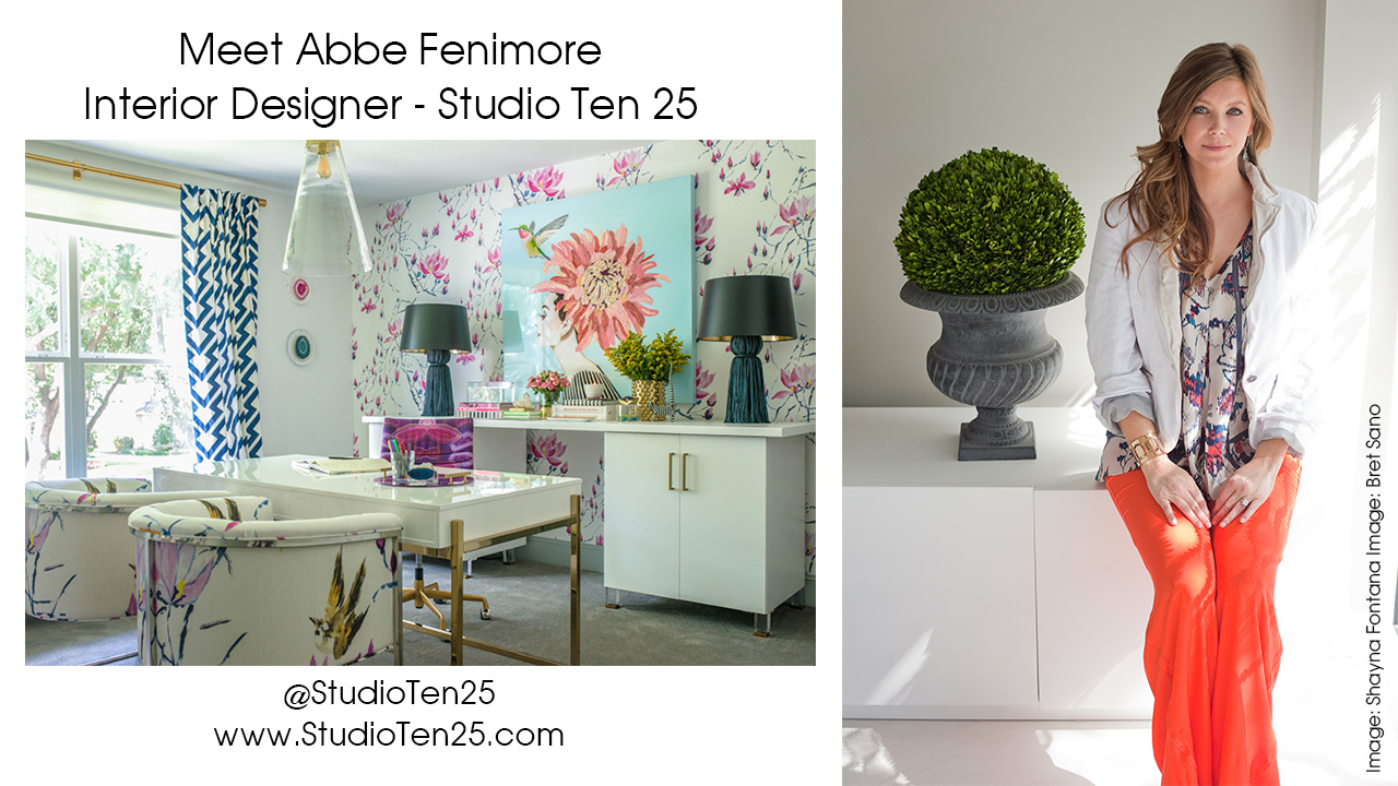 Abbe's GORGEOUS home office! Just a small taste of how talented this lady is!
