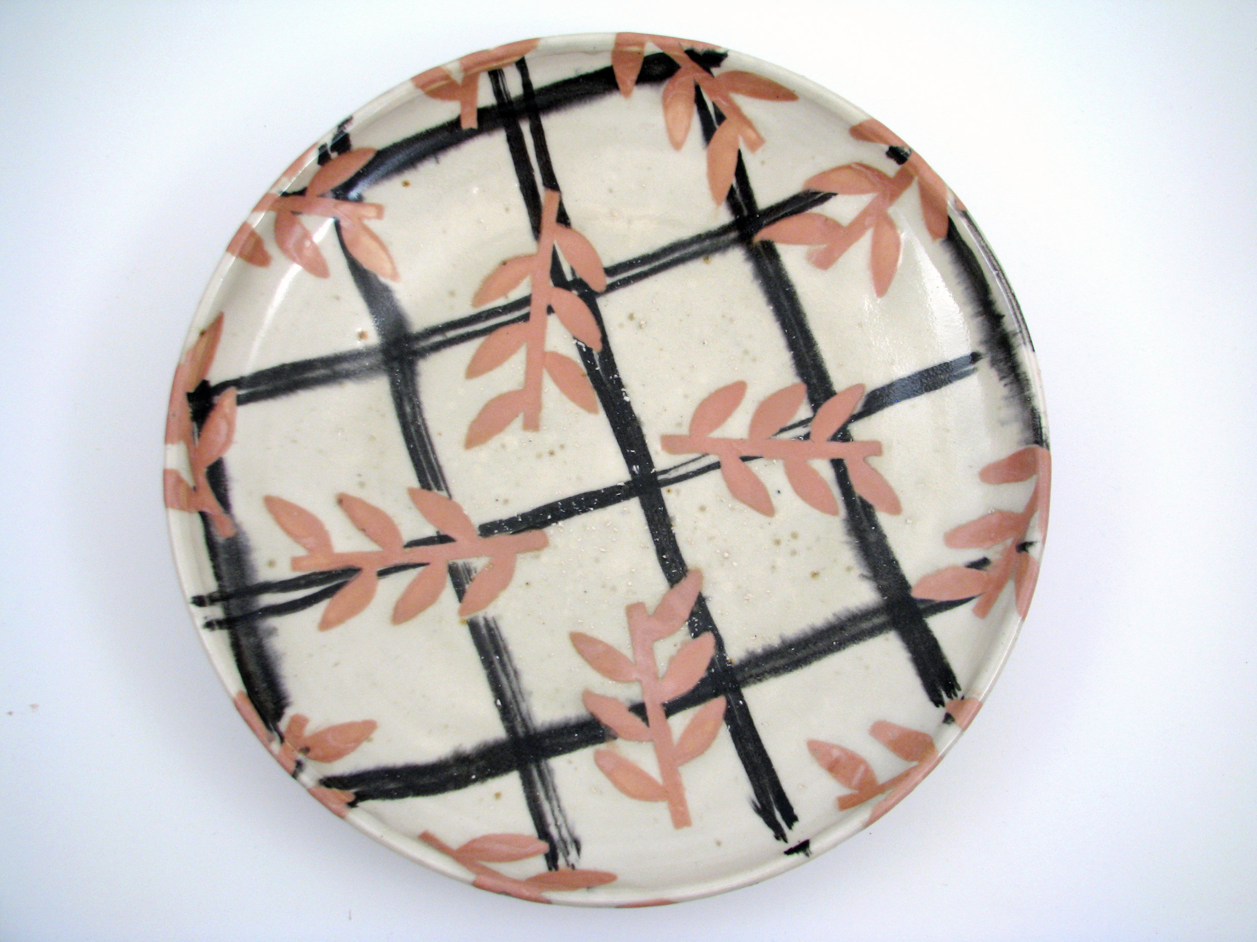 Platter with Laurel Branch Motif