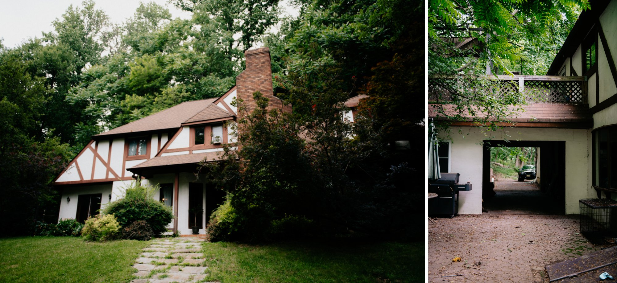 Philadelphia New Jersey Jockey Hollow Wedding Abandoned Athletic Courts Porche Jimmy Choos Family Home