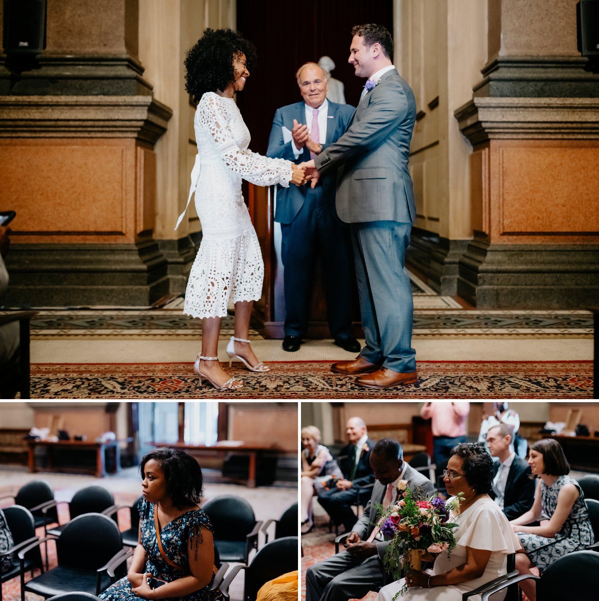 Philadelphia Wedding Elopement Colorful Portraits Zahav Reception Ceremony