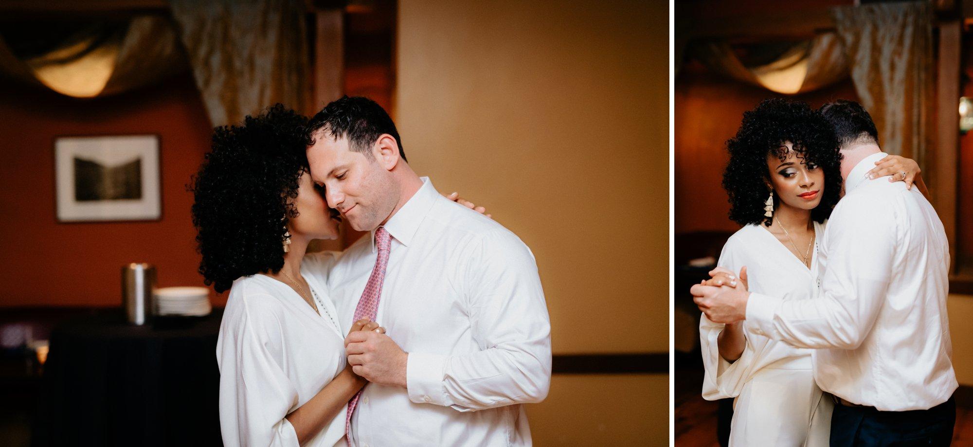 Philadelphia Wedding Elopement Colorful Portraits Zahav Reception First Dance